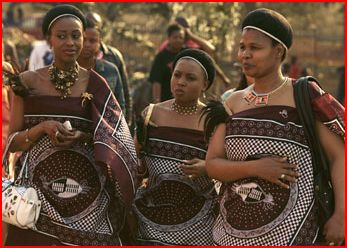 Xenophobia Swazi king's wives o...