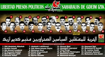 The 23 Political prisoners of Gdeim Izik