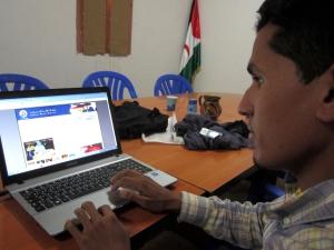 Sahara Press Service journalist