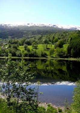 Lake in Western Norway