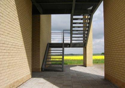 Fields behind Roskilde University