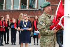 Flag Day for veterans at Gladsaxe Town Hall