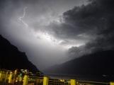 Lightening, Lake Garda