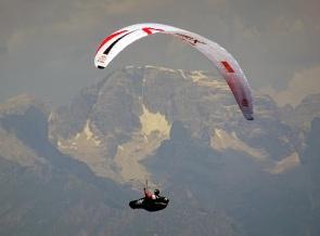 Paragliding, Monte Baldo