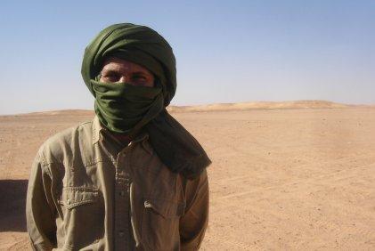 Beduin in Western Sahara