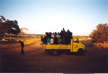 Missed the truck!, Monze, Zambia