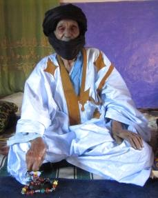 Old Saharawi man in Tindouf refugee camps