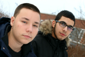 Kristiyan og Youssef 300px