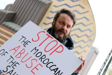 Afrika Kontakt demo against investments in Western Sahara