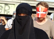Demo against Burka ban