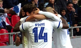 Dame N'Doye has Scored for FC Copenhagen